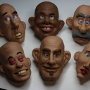 Here's some unused heads I made about a year ago.
