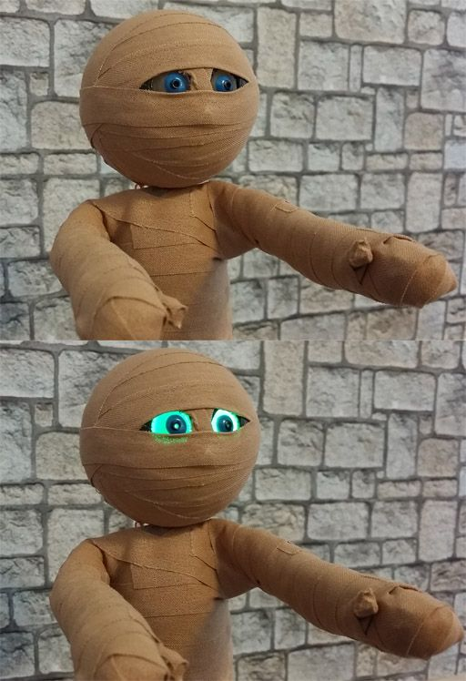 This mummy is the first puppet in my next animation