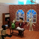 Jim's sets and puppets