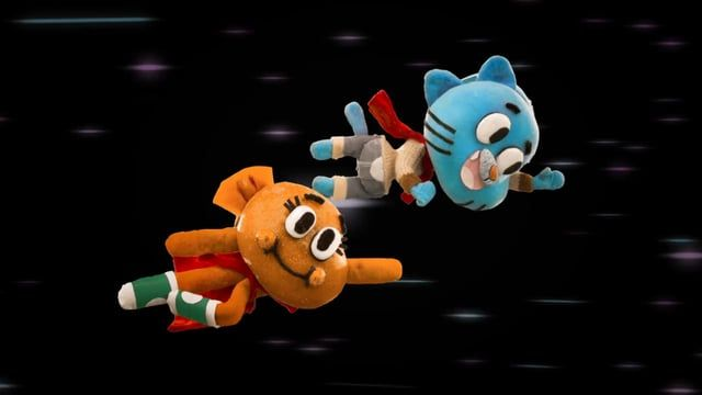 The Amazing World Of Gumball (Lado C stop-motion interstitial)