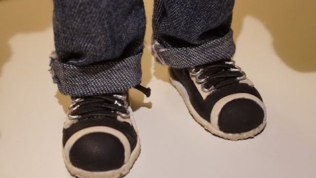 Creating Shoes for stop motion puppet