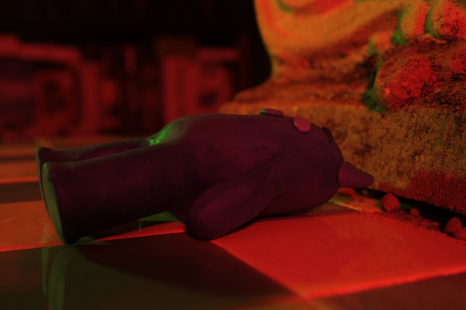 Here is a sample shot from Hope - a stop motion short film that I'm working in at the moment.