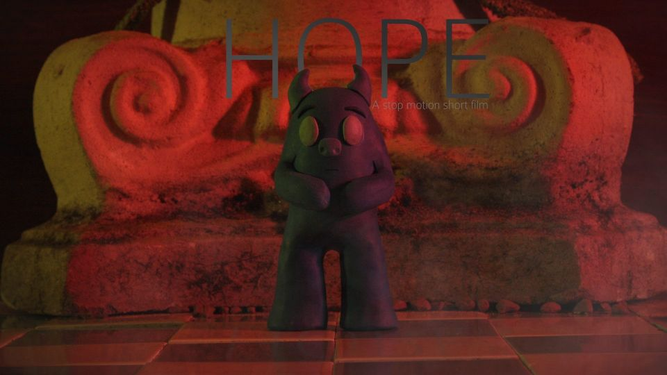 Hello, my first film for 2014 is called Hope - a stop motion short film coming soon.
