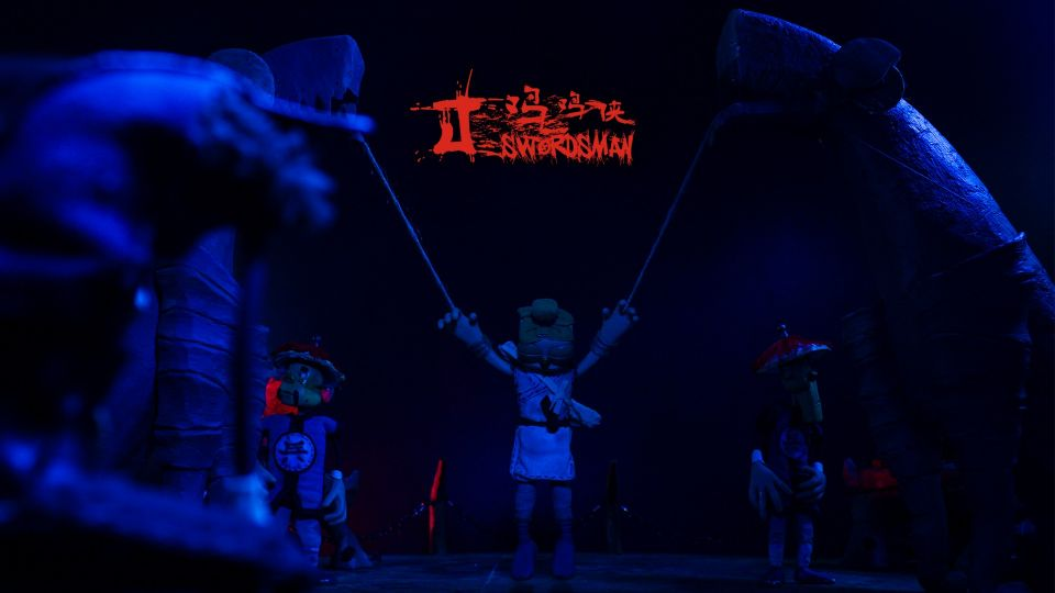 Stop-motion Animation J-Swordsman (5)