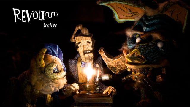Revoltoso (trailer for the stop motion short film)
