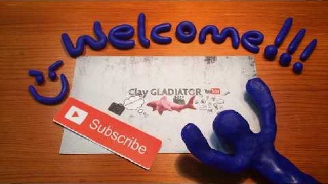 My stop motion clay and paper channel trailer | Stop Motion | Clay_Gladiator