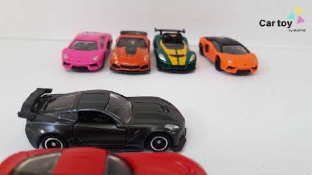 Stop motion   Car toy   Race