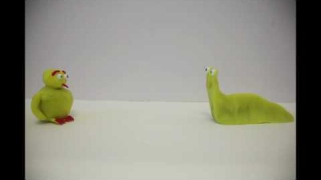 Collaborative Claymation for class