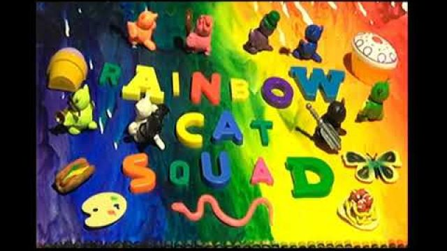 Rainbow Cat Squad: Cats Find Gold - Claymation