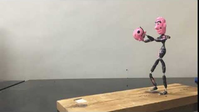 My First Stop motion armature