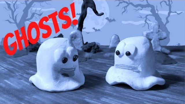 """Ghosts!"" A short stop motion by Faces Of Fear"