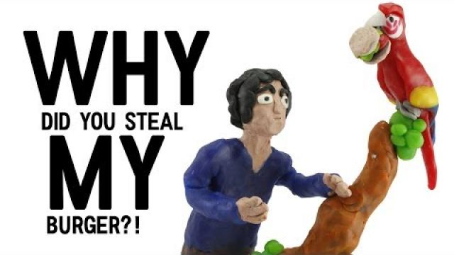 Why did you steal my burger? | Animation