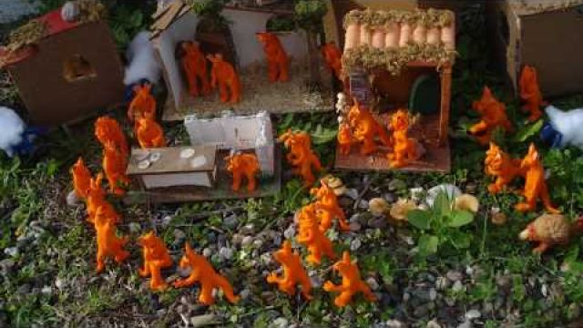 The xiyo village (clay animation)