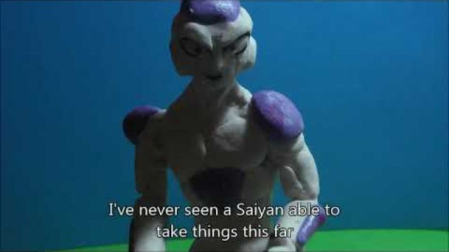 Dragon Ball Freezer Clay Animation